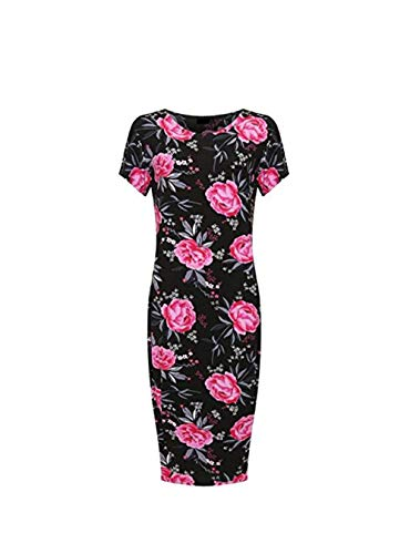 H&F Girls ® Damen Kleid Gr. 56, Pink Rose
