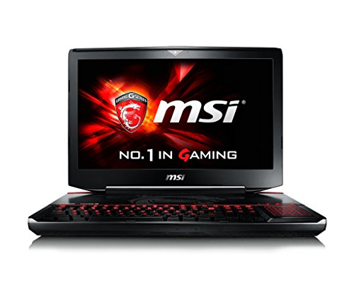 MSI Gaming GT80S 6QD(Titan SLI)-025FR - notebooks (i7-6820HK, Blu-Ray RW, Touchpad, Windows 10 Home, Lithium-Ion (Li-Ion), 64-bit, Nero)