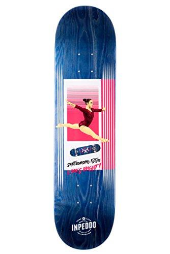 "Inpeddo Skateboard Deck #Sportslife Blue 8.125\"""