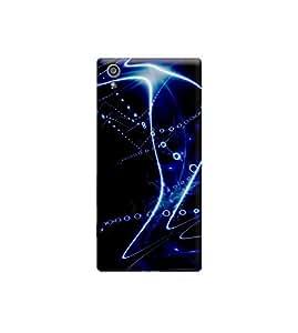 Ebby Premium Printed 3D Designer Back Case Cover For Sony Xperia Z5 (Premium Designer Cae)