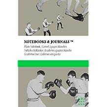 Carnet Notebooks & Journals, Boxe (Collection Vintage), Pocket, Blanc: Couverture souple (10.16 x 15.24 cm)(Carnet de Notes, Carnet de Voyage, Cahier de Texte)
