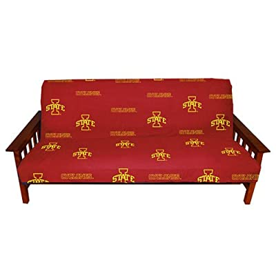 Iowa State Futon Cover - Full Size fits 8 and 10 inch mats - Iowa State Cyclones