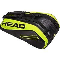 Head Extreme 9r Supercombie - Bolsa para Raqueta de Tenis, Color Negro/Amarillo, tamaño Talla única