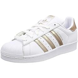 Adidas Originals Superstar W, Zapatillas para Mujer, Blanco (FTWR White/Cyber Met./FTWR White 001), 37 1/3 EU