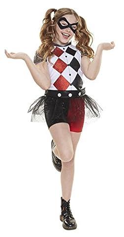 DC Super Hero Mädchen 57357-eu Harley Quinn Everyday verkleiden Outfit (One Size)