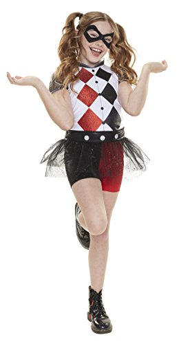 DC Super Hero Mädchen 57357-eu Harley Quinn Everyday verkleiden Outfit (One (Harley Outfits Quinn)
