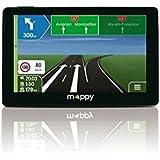 """Mappy ULTI S556 GPS Europe 44 pays Ecran: 5"""" Noir"""