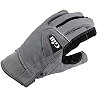 Gill Deckhand Short Finger Gloves - Adults Unisex - Easy Stretch UV Sun Protection and SPF Properties
