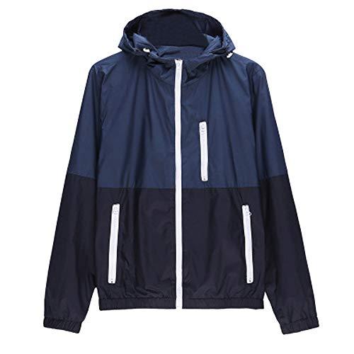 SEWORLD Herren Herbst Winter Sport Charm Herren Casual Slim Fit Beiläufige Jacke Outdoor Sportswear Windbreaker Leichte...