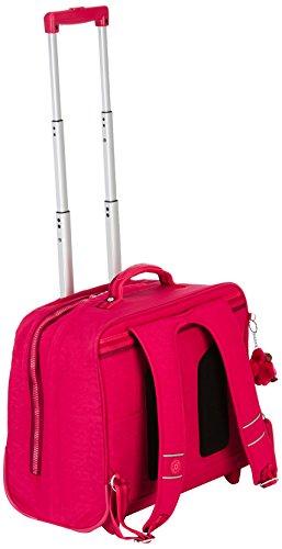 Imagen de kipling  clas dallin   con ruedas  cherry pink mix  rosa  alternativa