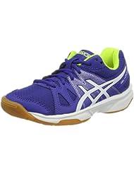 Asics Gel-Upcourt Gs, Chaussures de Badminton Garçon