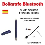 Penna Bluetooth + Pinga VIP Pro Supermini Kit Completo. (Blu)