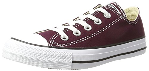 Converse Unisex Adults' 157644c Low-Top red Size: 9 UK