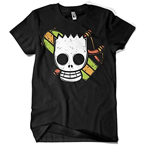 642-Camiseta Bar Simpson - Pirate Boy (Typoonic)
