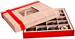99StoreOnline White-Red Box Chocolates, 200 grams