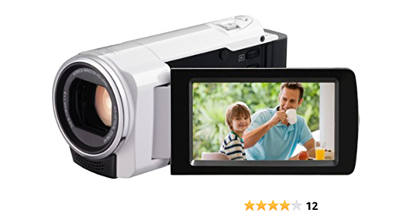 Jvc Gz Hm430weu Full Hd Camcorder 2 7 Zoll Weiß Kamera