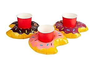 Smiffys 50886 - Soporte hinchable para bebidas, unisex para adultos, multicolor, talla única
