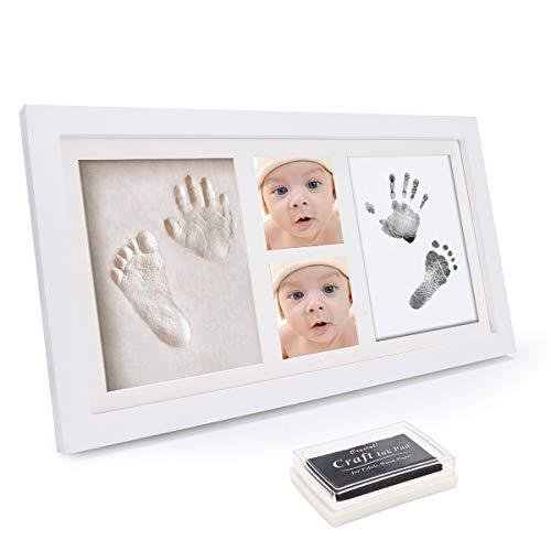 WesKimed Set Marco Fotos Huellas Bebé Tinta - Recuerdo