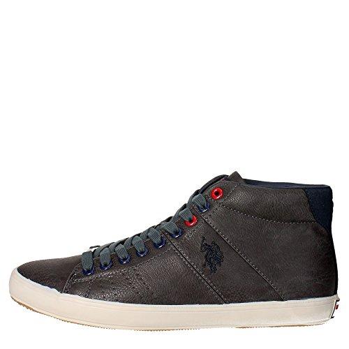 U.s. Polo Assn CADET4172W6/YS1 Sneakers Uomo Pelle Sintetico Grigio Grigio 43