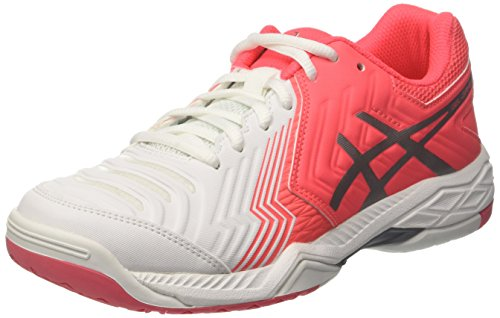 ASICS Gel-Game 6, Scarpe da Tennis Donna, Rosso (Rouge Red/Silver/White), 35.5 EU