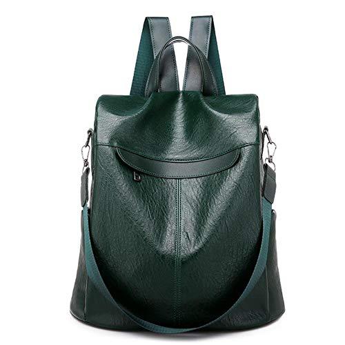 GEG Fashion Borsa da Viaggio ZainoportacomputerImpermeabile Zaino per Ragazza Femminile ModaZaino per Donna, Verde