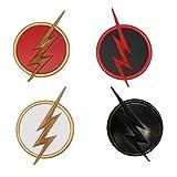 Cosplay Costume Badges 4pc Set Adulte Déguisement Vêtements Accessoires Alliages Métal Pin Props