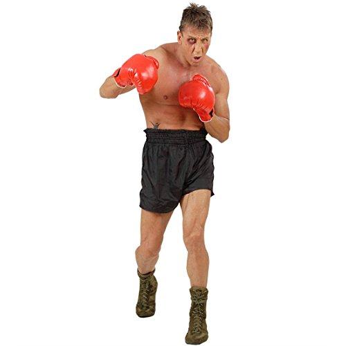 Kostüm Nette Boxer - NET TOYS Profi Boxhandschuhe Champ Trainingshandschuhe rot Trainings Handschuhe Sportler Gloves Boxerhandschuhe Boxer Kostüm Zubehör