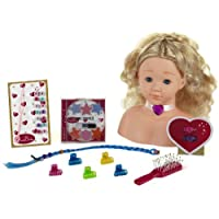 Theo Klein 5236 Princess Coralie Make-Up Hairstyling Head, Toy, Multi-Colored