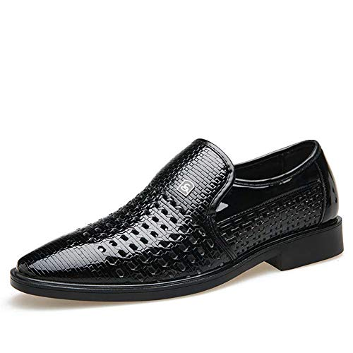 Mens Dress Schuhe Business Oxford Formale Sommer Wohnungen Spitz Hochzeit Schuhe (Dress Mens Alfani)