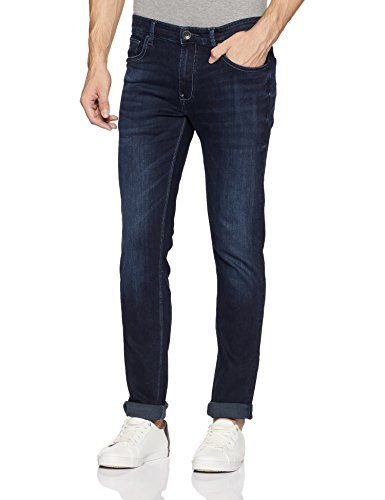 United Colors of Benetton Men's Skinny Fit Jeans (18P4L23R8069I_Blue_34W x 33L)