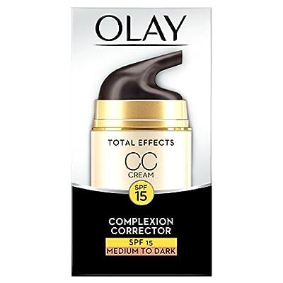 Olay Total Effects 7-in-1 CC Cream Moisturiser Fair To Medium, 50 ml
