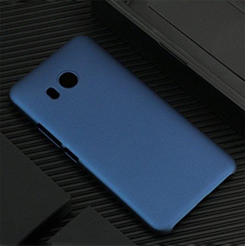 Preisvergleich Produktbild Mylboo® Für HTC u11 kreative Handy-Shell, matt Anti-Drop-Schutzhülle, echte Maschine offenen Modus, Präzision Loch, Allround-Schutz von Handys, HTC u11 (blau)