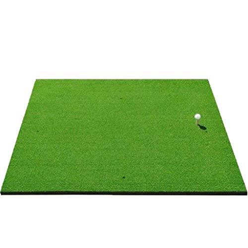 Academy Golf Übungsmatte (100cm X 125cm) - Üben Wie Die Profis Mit Der Aufrollbaren, Tragbaren Abschlagmatte Mit Kunstrasen -