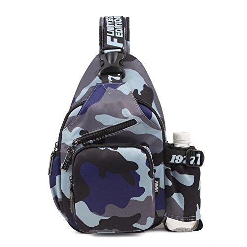 Borsa/ petto di onda coreana Pack/Moda donna borsa a tracolla/Diagonale tela Pocket man-F E