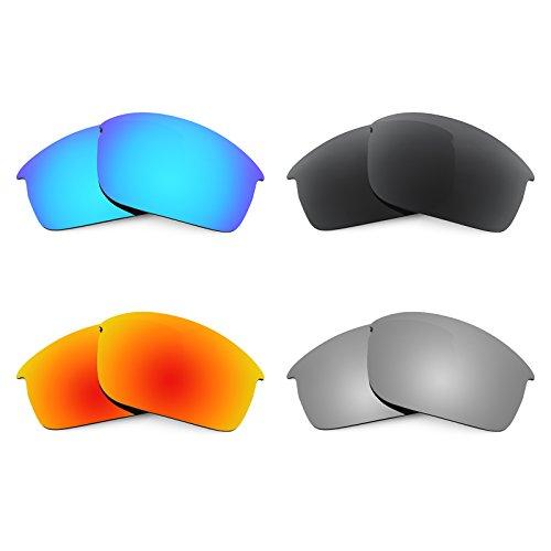 Revant Ersatzlinsen für Oakley Bottlecap XL Polarisiert 4 Paar Kombipack K018