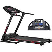 Smooth Fitness 5100e Plus Laufband - Connect+ App Steuerung, 42x125cm Lauffläche, Elektronische Neigungswinkelverstellung 0-12%, 36 Programme, Herzfrequenz-Training