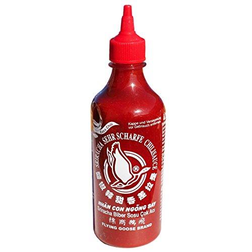 Flying Goose Sriracha Chilisauce sehr scharf 455ml Chili Sauce