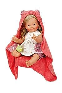 Schildkröt 3445859 - Muñeca de baño (tamaño 45 Blanco, Rojo
