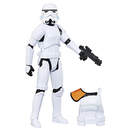 Hasbro Star Wars B7280El2 - Rogue One Battle-Action Basisfiguren - Imperial Stormtrooper Actionfigur (Lichtschwert Für Action-figuren)