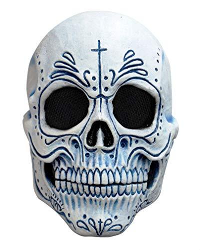 Horror-Shop Mexikanische Dia de los Muertos Totenkopf Maske