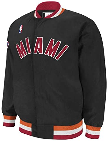 Miami Heat Mitchell & Ness NBA Authentic 96-97 Warmup Snap