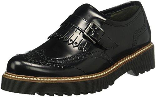 Gabor Shoes Comfort Sport, Mocassini Donna, Nero (Schwarz S.S/C), 37 EU