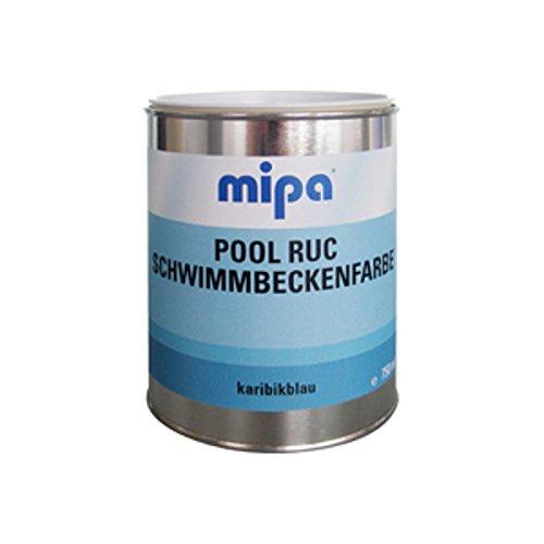 MIPA Pool Ruc 950 Schwimmbeckenfarbe karibikblau Poolfarbe 2,5L = 21,80€/L