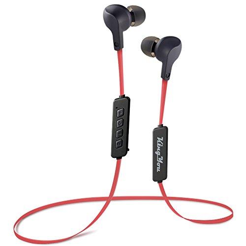 Kingyou Bluetooth Kopfhörer, Sport Kopfhoerer in Ear