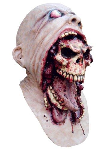Latex Maske: Blurp Charlie gesamten Kopf und Brust)