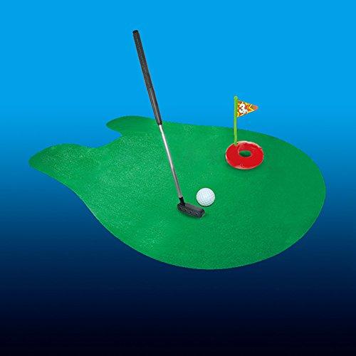 Honey MoMo WC Golf Spiel, WC Badezimmer Mini Golf T?pfchen Spiel Lustige T?pfchen Putter Matte WC Zeit Spielzeug