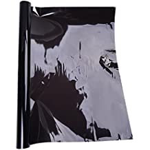 82f3fddc81bdc SODIAL(R) Pelicula Film Lamina para Ventana Color Negro Ancho 0.5 3M 99