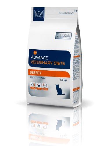 Advance Veterinary Diets Croquettes pour Chat Obésité 1,5 kg