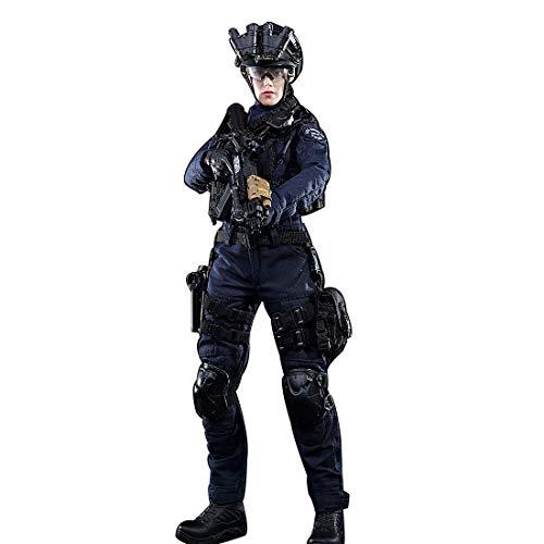 Batop 1/6 Soldat Modell, 12 Zoll Weiblich SWAT Soldat Actionfigur Modell Spielzeug Militär Figuren Zubehör