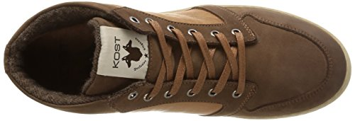 Kost Baliko, Sneakers Hautes homme Marron (Tabac/Cognac)